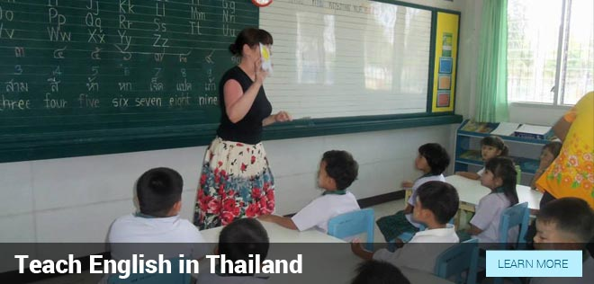 Teaching English In Thailand Through Our Job Offer Program